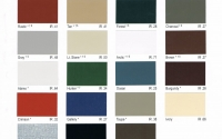 Building Color Chart